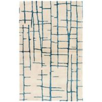 Jaipur Seychelles 8-Foot x 10-Foot Area Rug in Taupe/Navy