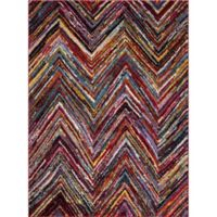 Jaipur Diamond Chevron 2-Foot 7-Inch x 5-Foot Area Rug