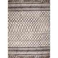 Diamond Vintage 6-Foot 7-Inch x 9-Foot 3-Inch Area Rug in Ivory