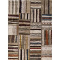 Diamond Urban 6-Foot 7-Inch x 9-Foot 3-Inch Area Rug in Ivory