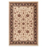 Jewel Collection Marash 5-Foot 3-Inch x 5-Foot 7-Inch Area Rug in Ivory