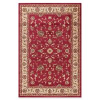 Jewel Collection Marash 5-Foot 3-Inch x 5-Foot 7-Inch Area Rug in Red