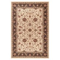 Jewel Collection Marash 6-Foot 7-Inch x 9-Foot 3-Inch Area Rug in Ivory
