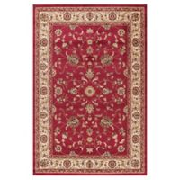 Jewel Collection Marash 6-Foot 7-Inch x 9-Foot 3-Inch Area Rug in Red
