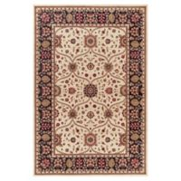 Jewel Voysey 2-Foot 7-Inch x 4-Foot Accent Rug in Ivory