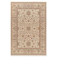 Jewel Voysey 5-Foot 3-Inch x 7-Foot 7-Inch Area Rug in Ivory Tonal
