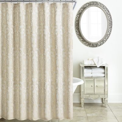 damasco metallic gold pocket target blackout curtains and rod curtain morrow white