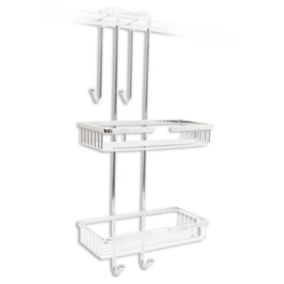 Taymor® Over-the-Door Shower Caddy in Chrome Buy Over the Door | Bed Bath \u0026 Beyond