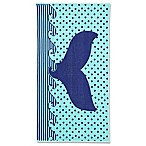 Whale Tail Beach Towel