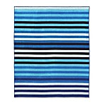 Stripe For 2 Beach Towel in Blue