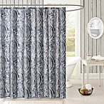 Harbor House Stella Shower Curtain in Navy/Grey