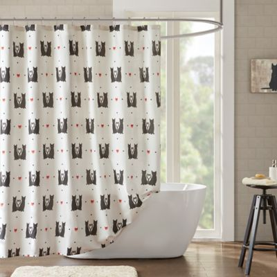 HipStyle Gigi Shower Curtain In Natural