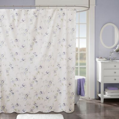 Madison Park Daria Shower Curtain In Ivory