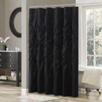 Madison Park Laurel Shower Curtain in Black