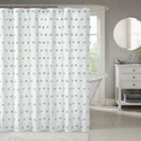 Madison Park Sophie Shower Curtain in White
