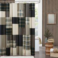 Woolrich® Winter Hills Shower Curtain in Tan