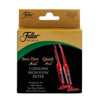 Fuller Brush High-Flow Filter in Black