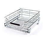 Seville Classics Wire Sliding Storage Drawer in Chrome