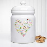 Her Heart of Love 10.5-Inch Cookie Jar
