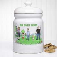 Our Family Characters at the Park 10.5-Inch Cookie Jar