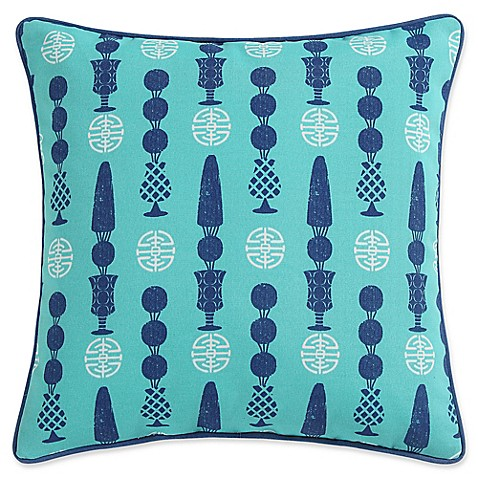 Clairebella Of Buy Clairebella Topiary Indoor Outdoor Square Throw