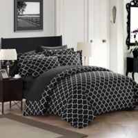Chic Home Emmett Reversible King Duvet Cover Set in Black