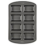 Wilton Perfect Results Nonstick 8-Compartment Mini Loaf Pan