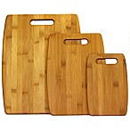 Oceanstar 3-Piece Bamboo Cutting Board Set in Natural