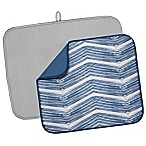 The Original™ 2-Piece Value Pack Dish Mats in Blue/Grey