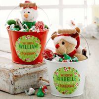 Sweet Christmas Mini Metal Bucket