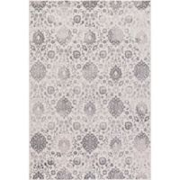 Lara Soft Damask 5-Foot 3-Inch x 7-Foot 7-Inch Area Rug in Ivory