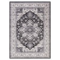 Lara Heriz 5-Foot 3-Inch x 7-Foot 7-Inch Area Rug in Anthracite
