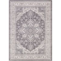 Lara Heriz 6-Foot 7-Inch x 9-Foot 3-Inch Area Rug in Grey