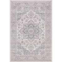 Lara Heriz 7-Foot 10-Inch x 10-Foot 6-Inch Area Rug in Ivory/Grey