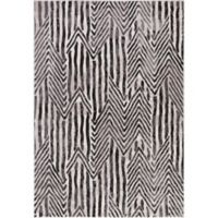 Lara Stripes 5-Foot 3-Inch x 7-Foot Area Rug in Ivory