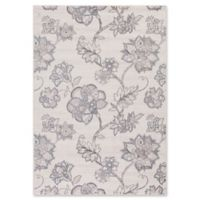 Lara Floral Harmony 5-Foot 3-Inch x 7-Foot 7-Inch Area Rug in Ivory