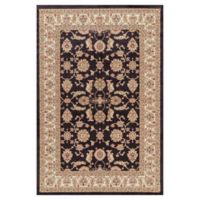 Jewel Antep 2-Foot 7-Inch x 4-Foot Accent Rug in Black