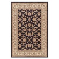 Jewel Antep 5-Foot 3-Inch x 7-Foot 7-Inch Area Rug in Black