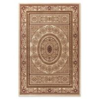 Jewel Aubusson 5-Foot 3-Inch x 7-Foot 7-Inch Area Rug in Ivory