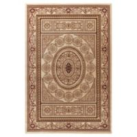 Jewel Aubusson 7-Foot 10-Inch x 9-Foot 10-Inch Area Rug in Ivory