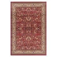 Concord Global Trading Jewel Sarouk 5-Foot 3-Inch x 7-Foot 7-Inch Area Rug in Red