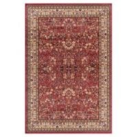 Concord Global Trading Jewel Sarouk 7-Foot 10-Inch x 9-Foot 10-Inch Area Rug in Red