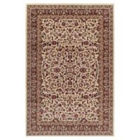 Jewel Kashan 2-Foot 7-Inch x 4-Foot Accent Rug in Ivory