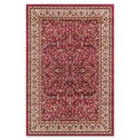 Jewel Kashan 5-Foot 3-Inch x 7-Foot 7-Inch Area Rug in Red