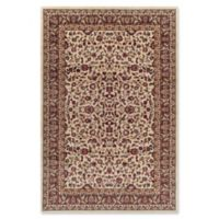 Jewel Kashan 5-Foot 3-Inch x 7-Foot 7-Inch Area Rug in Ivory