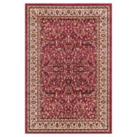 Jewel Kashan 7-Foot 10-Inch x 9-Foot 10-Inch Area Rug in Red