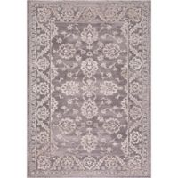 Thema Antolia 3-Foot 3-Inch x 4-Foot 7-Inch Accent Rug in Beige/Grey