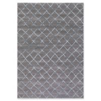 Thema Theo 5-Foot 3-Inch x 7-Foot 3-Inch Area Rug in Teal/Grey