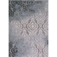 Thema Lancing 3-Foot 3-Inch x 4-Foot 7-Inch Accent Rug in Grey