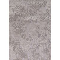 Thema Lancing 3-Foot 3-Inch x 4-Foot 7-Inch Accent Rug in Ivory/Grey
